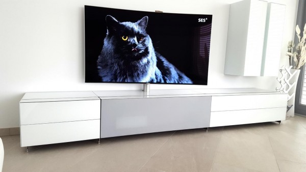 spectral cocoon multimedia tv lowboard tv m bel tv trolley tvpaguera. Black Bedroom Furniture Sets. Home Design Ideas