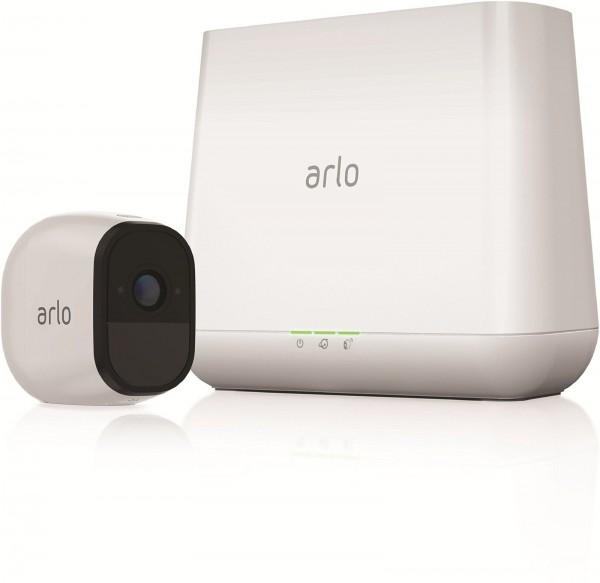ARLO Pro HD Camera-Set mit Akku, Sirene und Audioübertragung