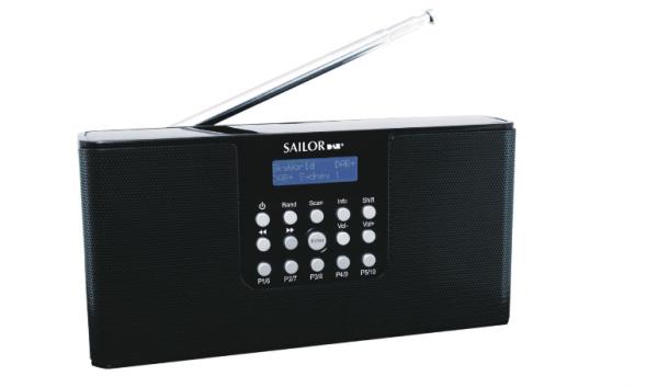 Sailor SA215 DAB+ schwarz Radio