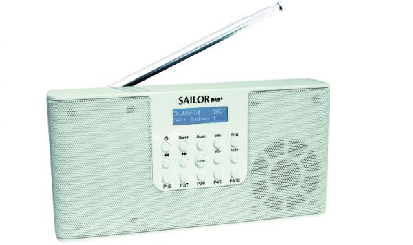 Sailor SA215 DAB+ weiss Radio